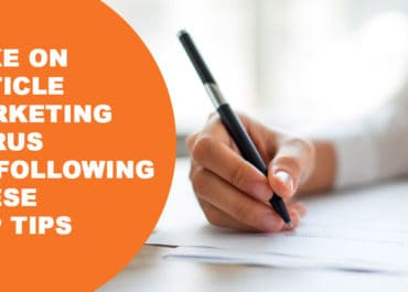 Take On Article Marketing Gurus By Following These Top Tips